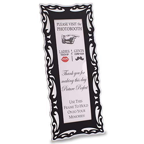 Photo Booth Frames Black Magnetic for 2