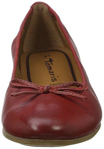 Tamaris 22116, Bailarinas para Mujer Rojo (CHILI 533)