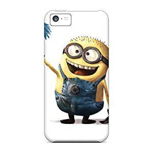Sanp On Cases Covers Protector For Iphone 5c (despicable Minion)