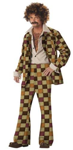 Disco Sleazeball - Leisure Suit Party Costume - Medium