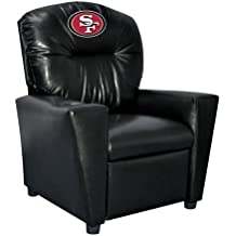 Imperial Officially Licensed NFL Furniture: Youth Faux Leather Recliner