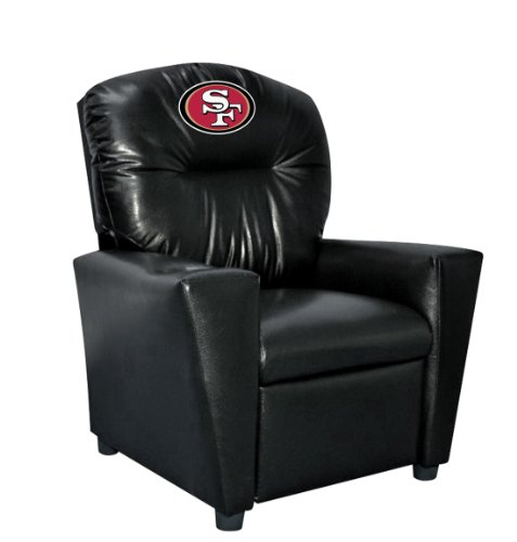 - Imperial Officially Licensed NFL Furniture: Youth Faux Leather Recliner, San Francisco 49ers