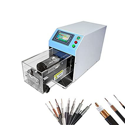 Hanchen Instrumento EW-06G Computadora CE Cable Coaxial Máquina de Pelar Cable Semi Flexible Coaxial