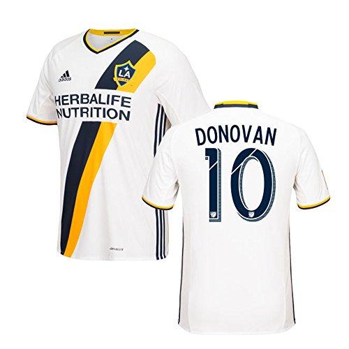 場合落ち込んでいるギャンブルAdidas DONOVAN #10 LA Galaxy Home Soccer Jersey 2016 (Authentic name & number) /サッカーユニフォーム ロサンゼルス?ギャラクシー ホーム用 ドノバン