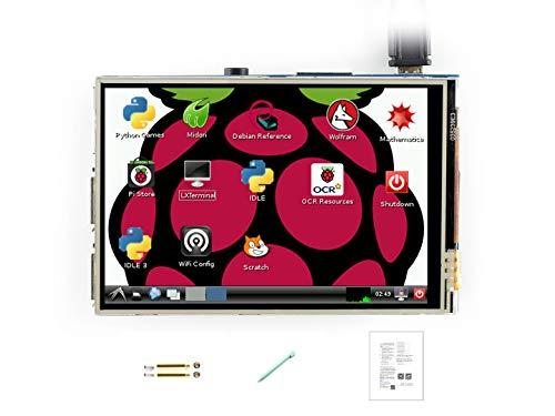 ماژول صفحه نمایش LCD LCD 3.5inch 320480 TFT صفحه نمایش لمسی مقاوم در برابر Waveshare Raspberry Pi LCD رابط SPI برای Rapsberry-pi مدل B / B / 2 B