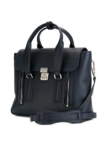 3 Women's Leather AC000179SKCINK Phillip 1 Handbag Blue Lim qqnPB4xCw