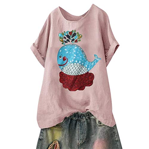 Whale Hunter Costumes - Holzkary Women's Fashion Funny Pattern Tees