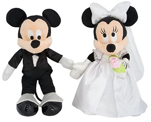 Disney Parks Mickey & Minnie Mouse Wedding Plush Set - Minnie Mouse Wedding