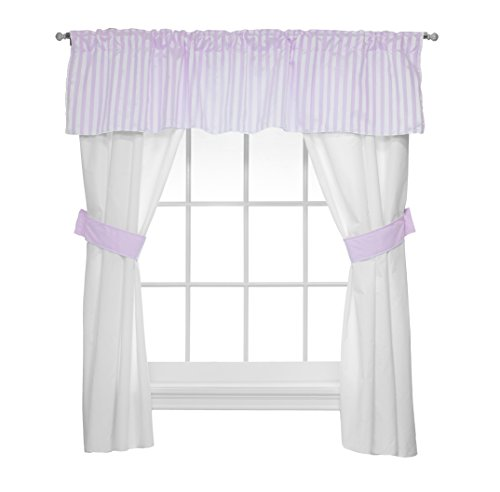 Candy Baby Doll (Baby Doll Candyland 5 Piece Window Valance and Curtain Set, Lavender)