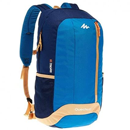 X-Sports Decathlon Quechua Hiking Camping Water Repellent Backpack Arpenaz  20L (Blue Beige ebe213b4a0144