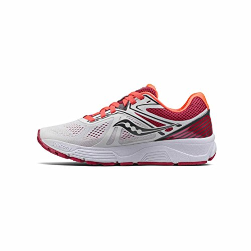 Saucony Women 5 Shoe Shoes Swerve White Red Neutral 5 Running aUrqafxSwv
