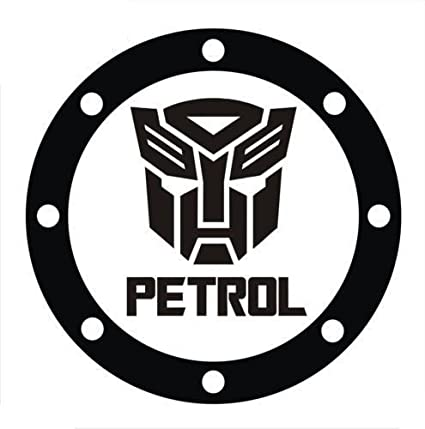 Fusion Limited Edition Petrol Sticker With Transformers Logo For Car
