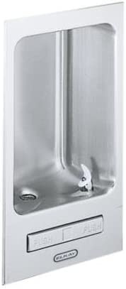 Fully Recessed Water Fountain Elkay Wall Hung Stainless Steel