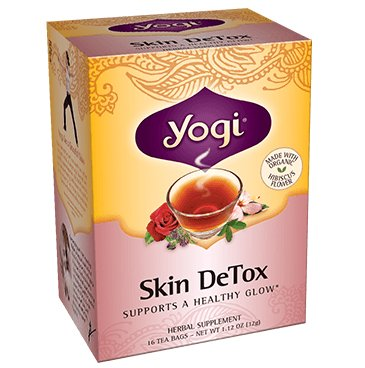 Skin Detox Tea (Yogi Tea Co. Tea, Og, Herbal Skin Detox, 16-Count (Pack of)