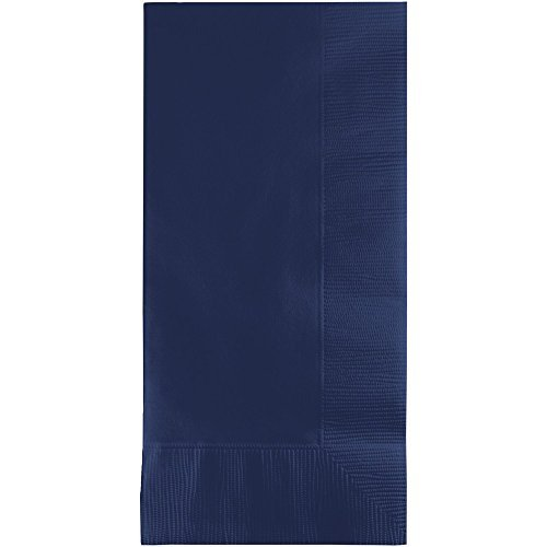 - Creative Converting Pack 50 gorgeous NAVY BLUE Dinner Napkins for Wedding, Party, Bridal or Baby Shower, Disposable Bulk Supply Quality Product