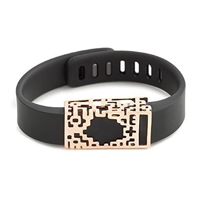rose gold Lucas slide for Fitbit Flex