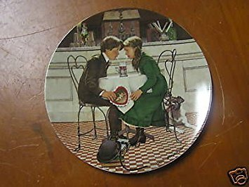 Knowles China Plate Valentines Day
