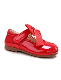 Pettigirl Girls Bowknot Flat Princess Bridal Party Mary Jane Shool Shoes