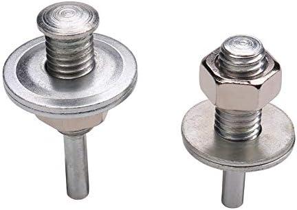 Mandrel for Drill into a Buffing//Polishing Wheel 2 PCS 1//2 Arbor Drill Arbor Adapter with 1//4 Diameter Shank