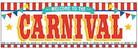 picture of CARNIVAL BANNER » Party Decor » 1 Piece
