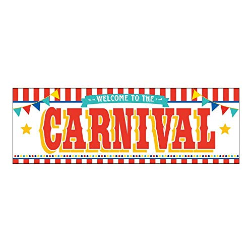 Fun Express Plastic Carnival Banner ()