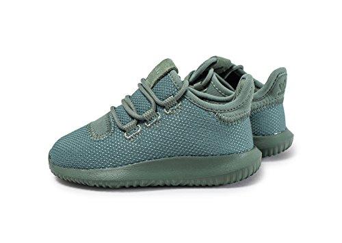 adidas Unisex Baby Tubular Shadow I Sneaker, Weinrot grün (Vertra / Vertra / Amatac)