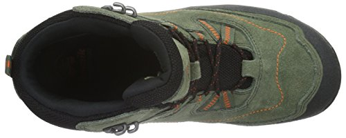 Kamik SASQUATCH - botas de senderismo de cuero infantil verde - Grün (OLI)