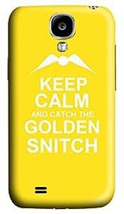 Samsung Galaxy S4 I9500 Hard Case - Keep Calm Colden Snitch Galaxy S4 Cases
