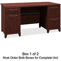 BSH2960CSA103 - Bush 60amp;quot; W Double Ped Desk B/D