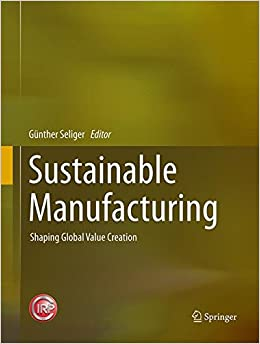 Book Sustainable Manufacturing: Shaping Global Value Creation