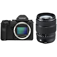 Fujifilm GFX 50S 51.4MP Medium Format Mirrorless Camera (Body Only) with Electronic Viewfinder, Full HD 1080p Video - With Fujifilm GF 32-64mm f/4 R LM WR Wide-Angle Zoom Lens