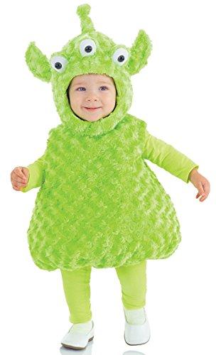 Alien Toddler / Child Costume - 4-6 (Alien Baby Costume)