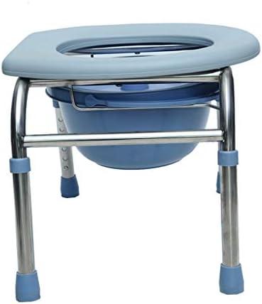 箪笥妊婦の高齢者のトイレスツールバススツールスリップでオールステンレススチール箪笥チェア高さ調節