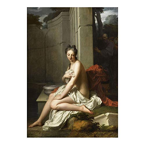 Boucher Art Painting - Francois Boucher Painting Art Poster Print Wall Decor 24x36 Inches Photo Paper Material Unframed