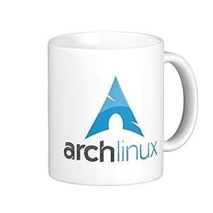 Arch Linux grande taza de café 11oz