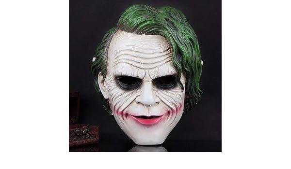 Dodom Joker Máscara Realista Batman Payaso Disfraz Máscara de ...