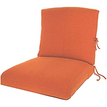 CushyChic Outdoor Terry Slipcovers For Deep Seat Patio Cushions, 2 Piece In  Tangier   Slipcovers