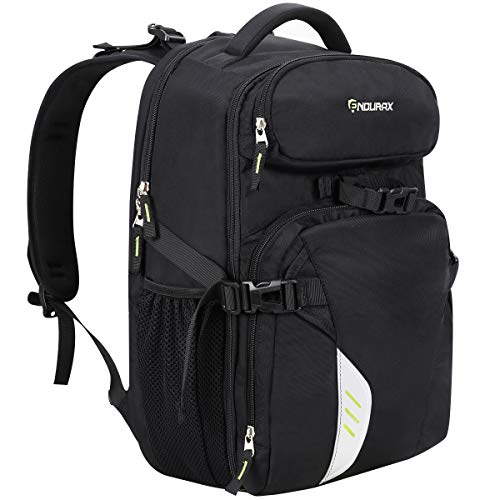 Endurax Camera Laptop Backpack for Outdoor Travel Hiking Fit 2 DSLR / SLR 4-6 Lenses Women and Man
