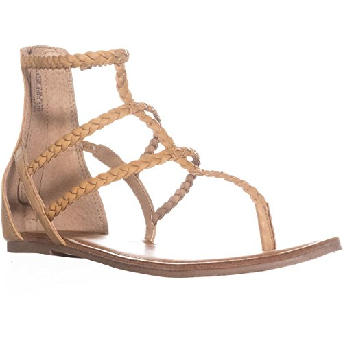 amadora Rag Open Sandals Toe Casual Natural Strappy American Womens Light dqAHOxnE
