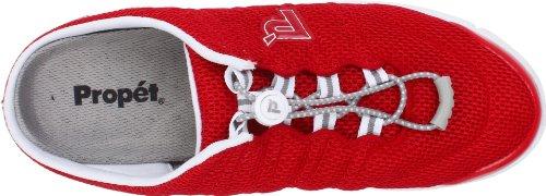 Travelwalker Propet Shoe Red Slide Women's Mesh pnnBqv4w7x