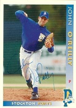 John O'Reilly autographed Baseball Card (Minor League) 1998 Grandstand Rookie #30 - Autographed Baseball Cards