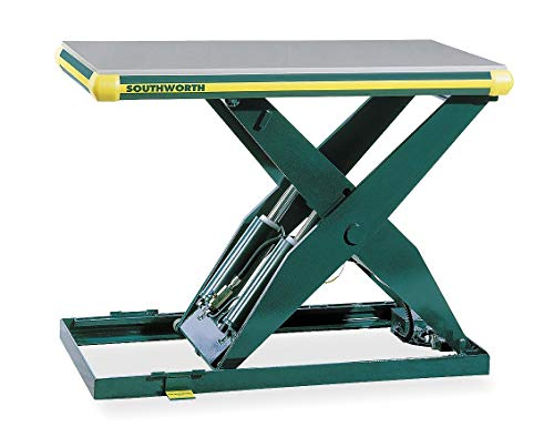 Southworth Scissor Lift Table, 2000 lb., 115V, 1 Phase - LL2.0-32.5-48x48 FS