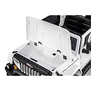 SPORTrax-Awesome-4WD-Kids-Ride-On-Vehicle-Battery-Powered-Remote-Control-wFREE-MP3-Player-White