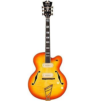 De Angélico Excel 59 Sunburst ex59sb - Guitarra eléctrica tirador ...