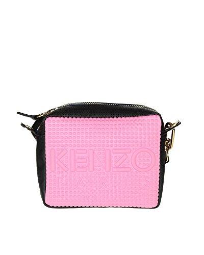 kenzo-womens-f662sa406f0830-pink-polyester-shoulder-bag