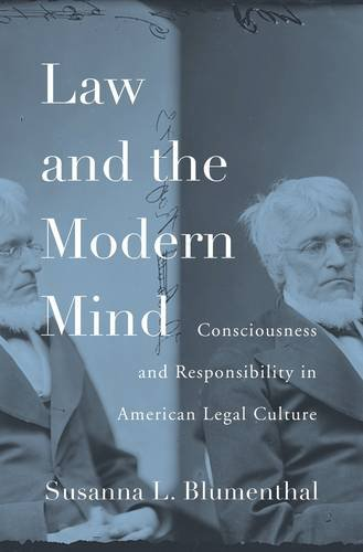 Image of Law and the Modern Mind: Consciousness and Responsibility in American Legal Culture