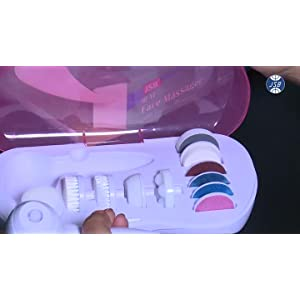 JSB HF17 Home Beauty Massager with 11 attachments