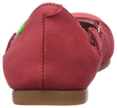 El Naturalista Croche - Bailarinas de cuero para mujer rojo - Rot (Grosella)