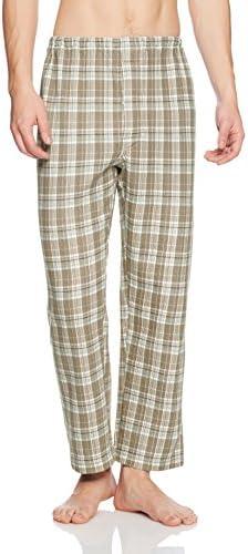 パジャマ 肩もも腰トリプル保温 長袖長パンツ ソフトキルト/発熱ニットガーゼ SG4077 メンズ