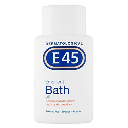6 x E45 Dermatological Emollient Bath Oil (E45 Bath)